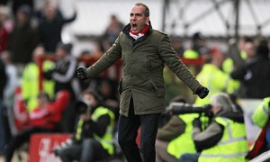 Back for more: Di Canio is aiming for a fourth straight win against higher league opposition