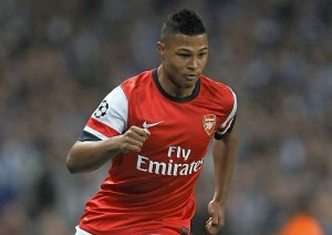New kid on the block: 17-year-old German starlet Serge Gnabry could be set for his first Arsenal start