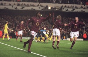 Thanks for the memories: Arsenal sign off their European adventures at Highbury with crucial win