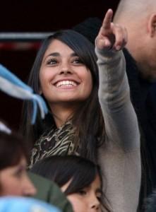 Picture Lionel Messi's girlfriend