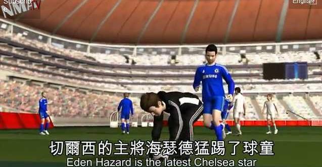 Eden Hazard video