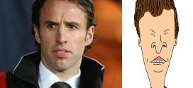 Gareth Southgate Butthead lookalike