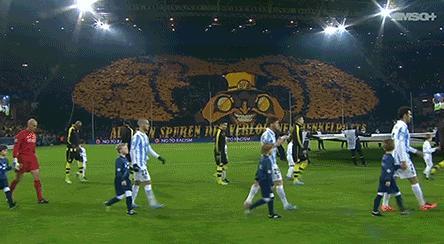 Dortmund crowd champions league
