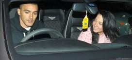 Tulisa with boyfriend Simpson
