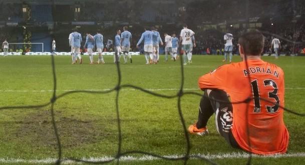 Manchester City smash sorry West Ham