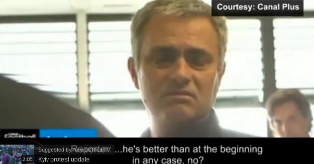 Mourinho secret interview