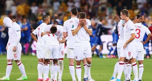 England shame