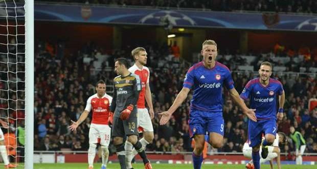 Arsenal v Olympiakos champions league