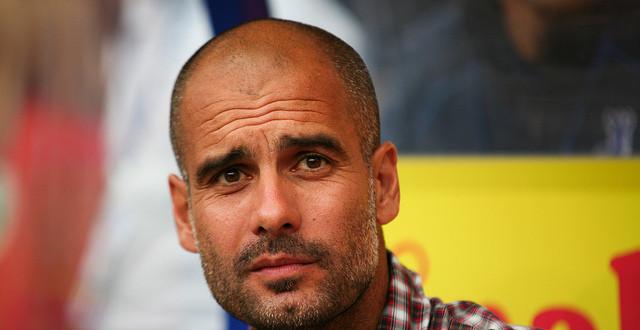 Pep Guardiola manager