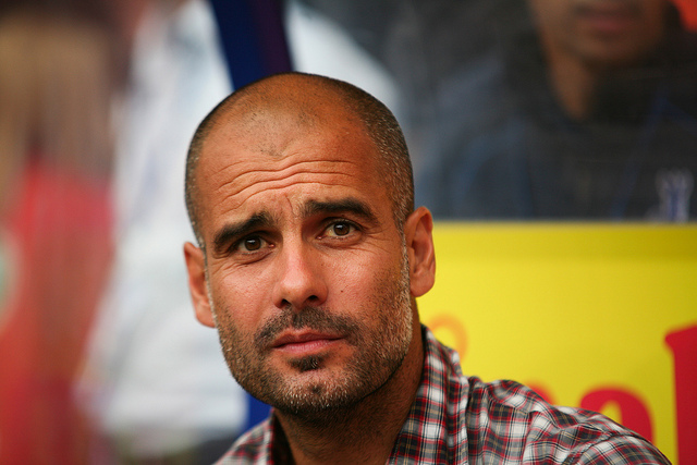 Pep Guardiola manager