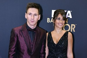 Image of Lionel Messi's Girlfriend