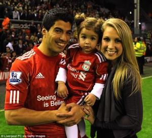 Picture's of Luis Suarez's Girlfriend