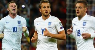 Rooney, Vardy, Kane