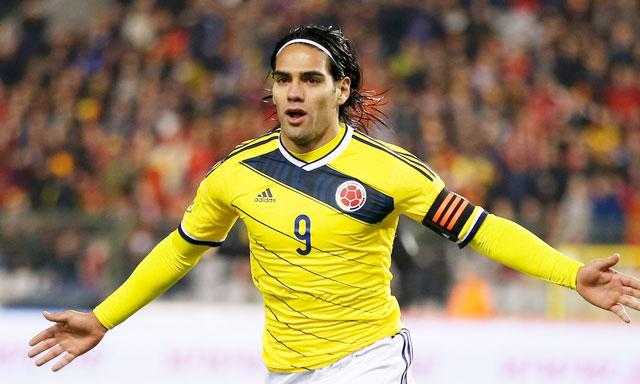 We have not seen much of this from Falcao in the Premier League.