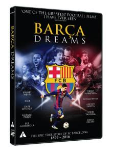 Win Barca Dreams DVD