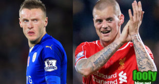 Vardy and Skrtel Faceswap