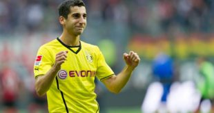United are hopeful of signing Mkhitaryan with 'Improved offer'.