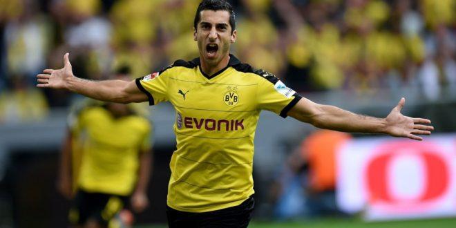 Dortmund's Mkhitaryan Could Move to Manchester United