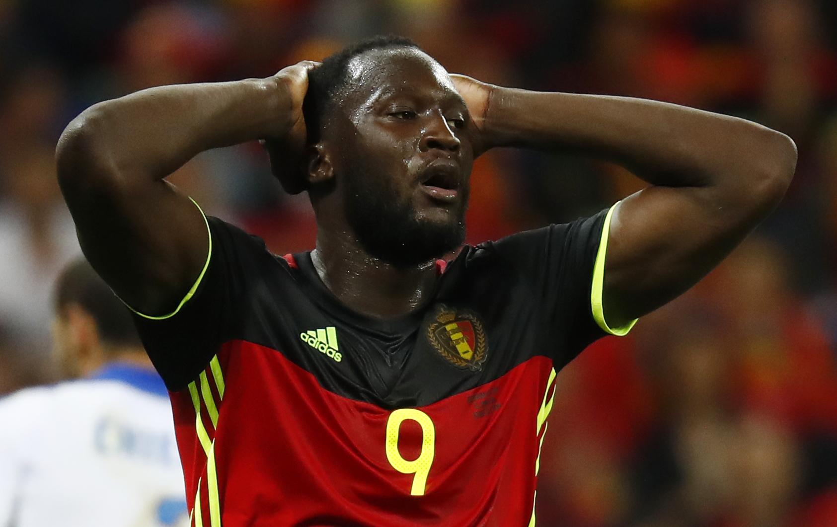 Romelu Lukaku rues missed opportunities against Italy at Euro 2016.