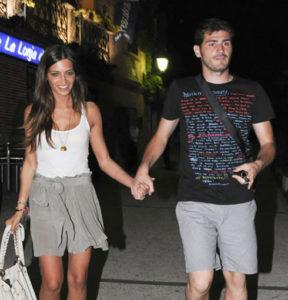 Photo Iker Casillas lovely girlfriend