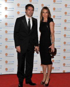 Michael Owen and girlfriend