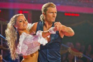 Robbie Savage girlfriend dancing