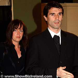 Roy Keane and Theresa Doyle