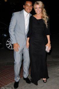 Theo Walcott girlfriend in the same photo