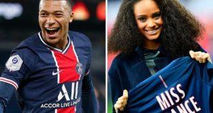 Kylian Mbappe Girlfriend Alicia Aylies 2021