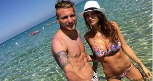 Ciro Immobile's stunning Wag Jessica Melena in bikini with her husband immobile
